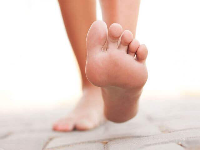 Человеческая нога