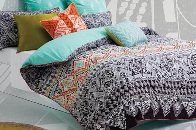 Средняя цена за постельное белье