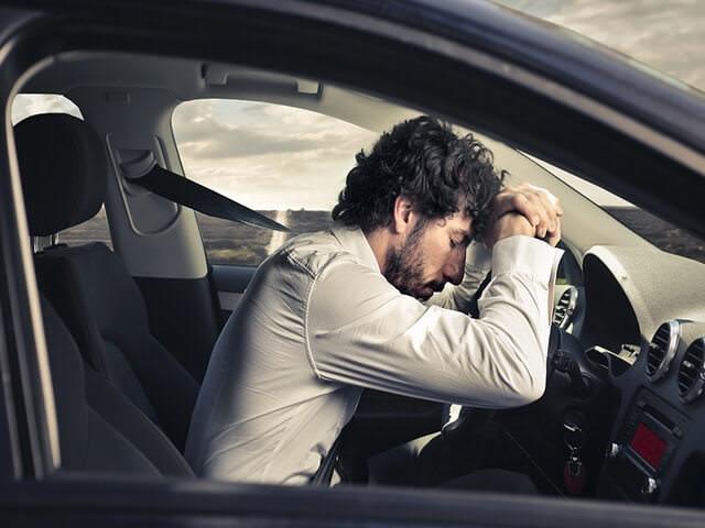 Рассеянность и сонливость за рулем