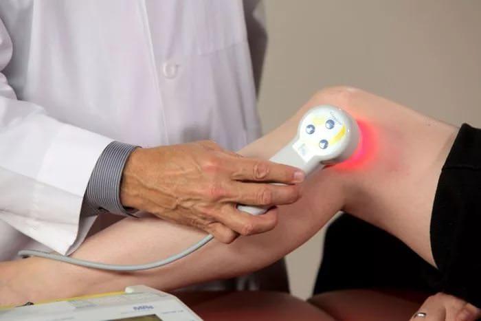 Физиотерапия коленного сустава