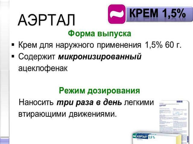 Применение лечебного крема