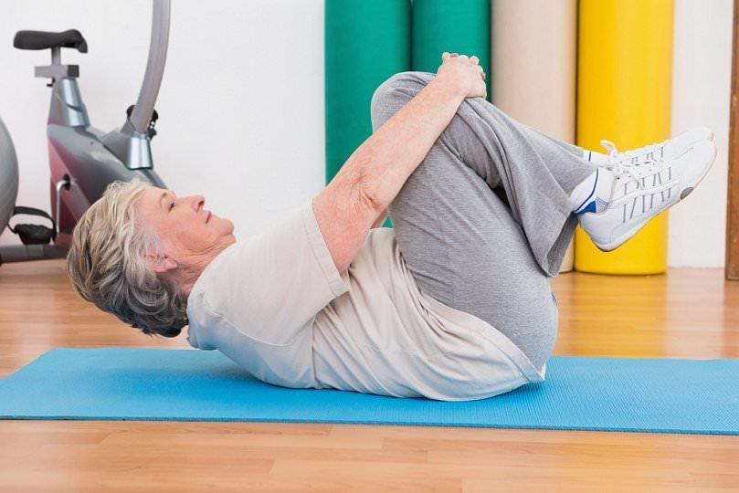 Правильная физкультура для колена