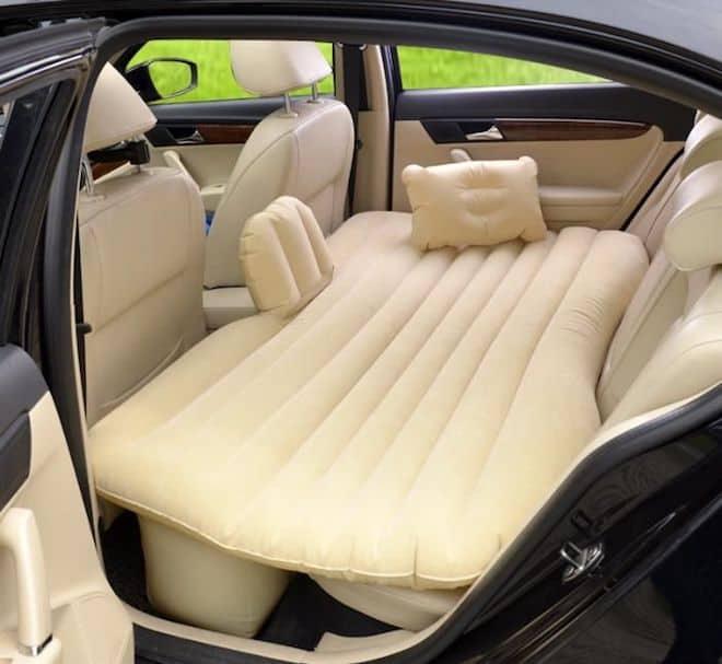 Автомобильные надувные матрасы