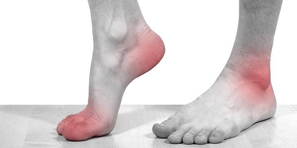 Боль в стопах ноги