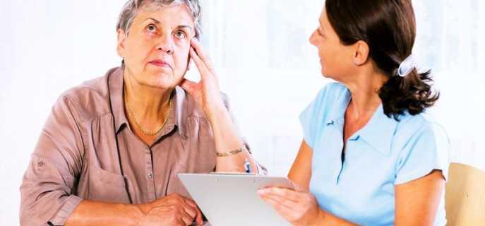 Причины потери памяти и пожилых людей