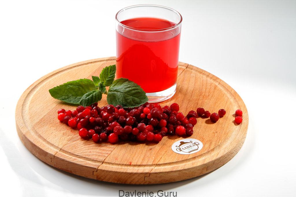 Клюквенный сок