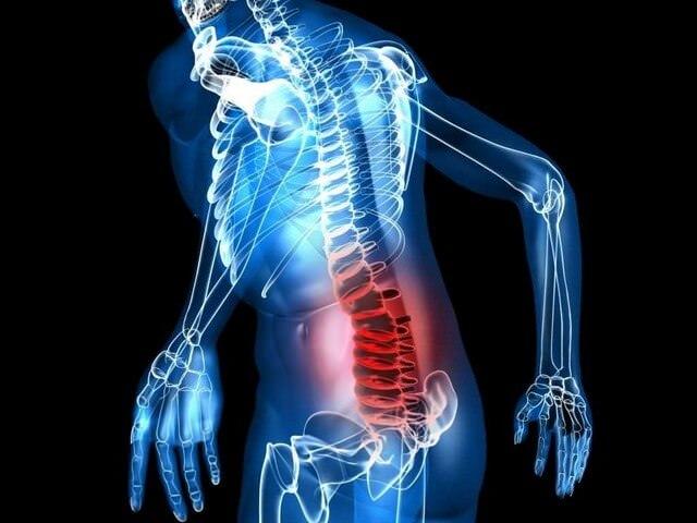 Боль в нижнем отделе позвоночника