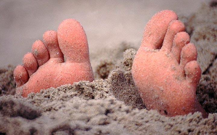 Лечение горячим песком