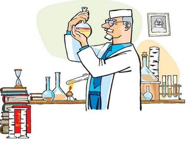 Лаборант в химической лаборатории