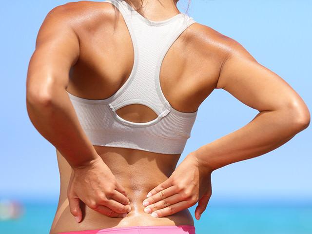 Ушиб нижней части спины