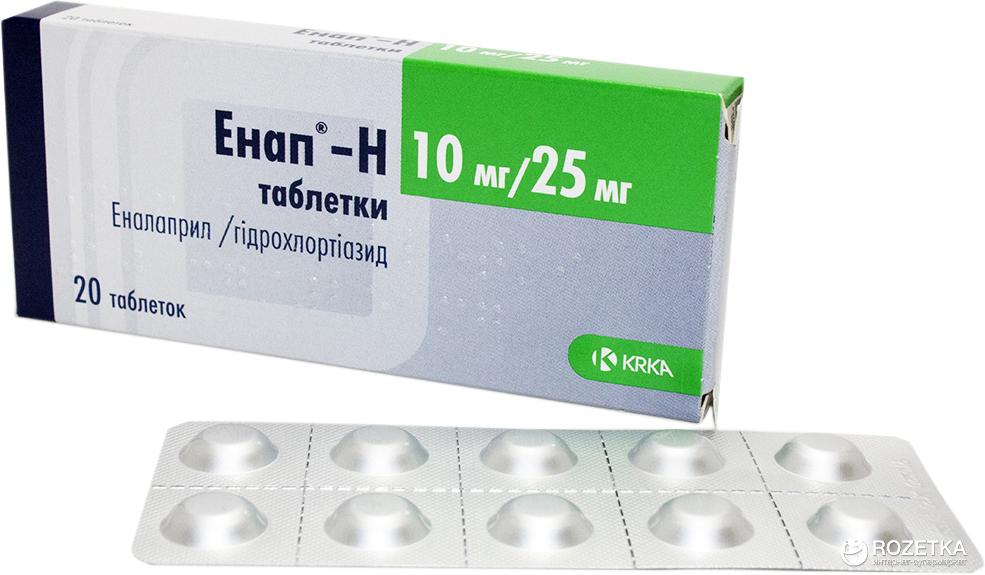 ЭНАП-НЛ таблетки - инструкция по применению, цена ...
