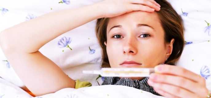 Что делать, если болит голова и поднялась температура