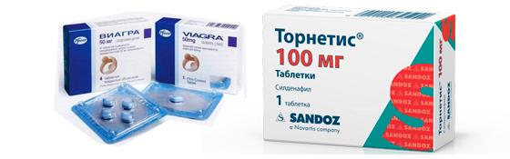 Виагра и Торнетис