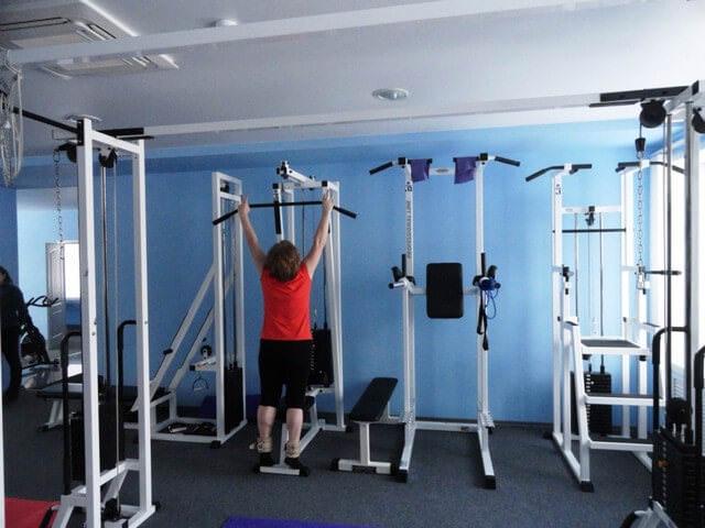 Занятия в спортзале