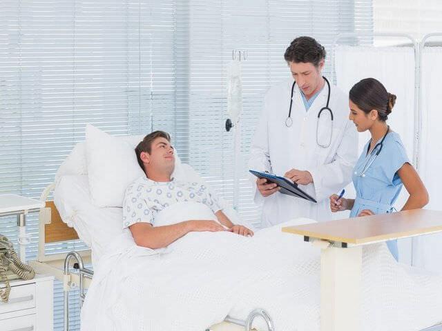Лечение пациента в больнице