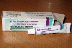 Как применять Солкосерил при стоматите