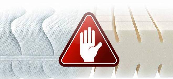 Чем опасны для здоровья полиуретановые матрасы