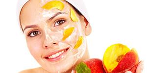 Маска из фруктов на лицо