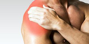 Боль в руке у спортсмена