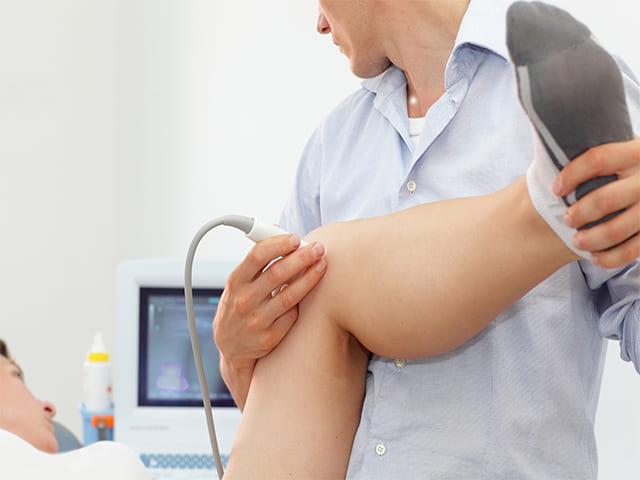 Что покажет УЗИ коленного сустава