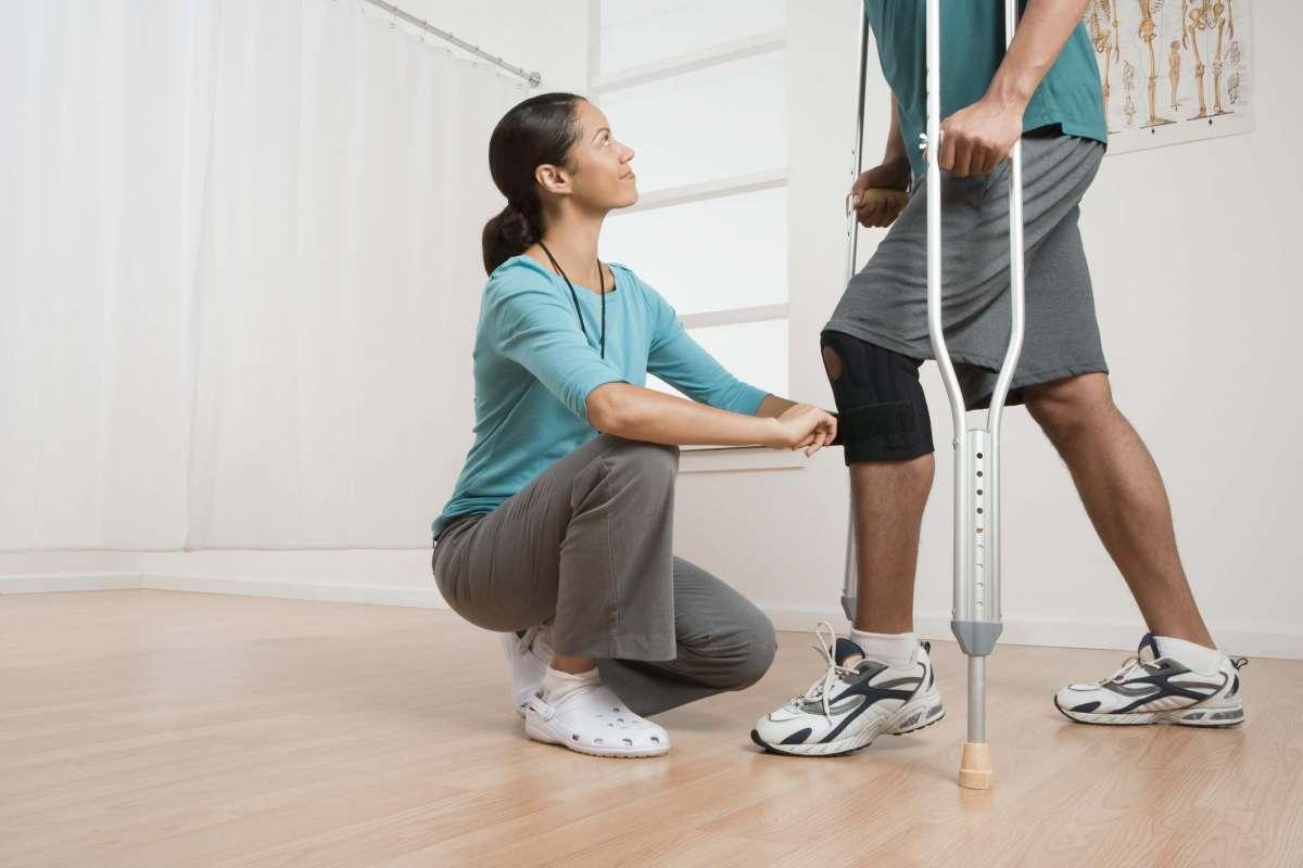 Восстановление колена после операции