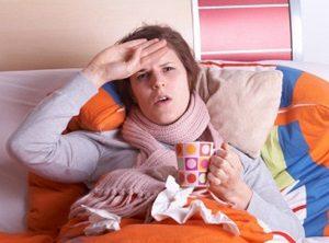 Потогонные свойства при простуде
