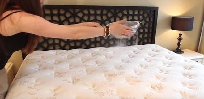 Как устранить запах не нового матраса