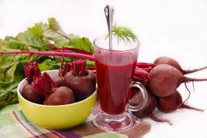 Свекольный сок помогает в лечении гипотиреоза