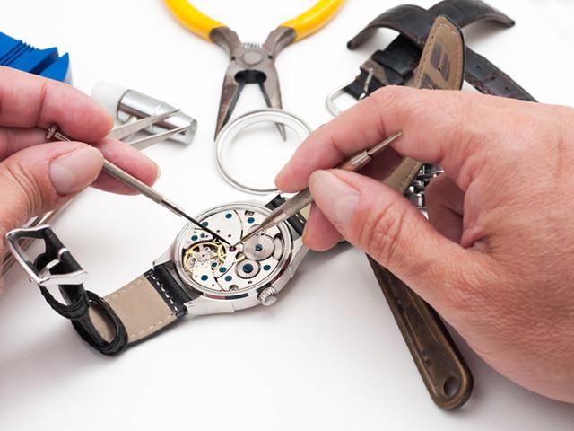 Работа часовщика
