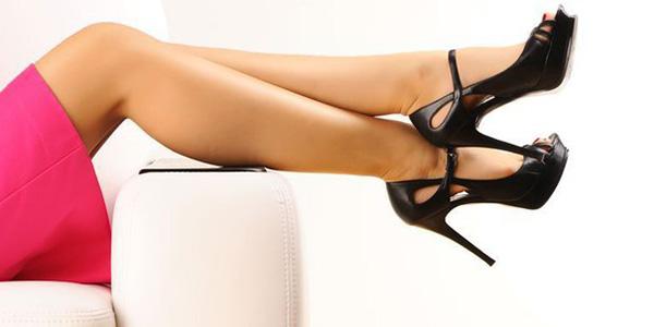 Боль и тяжесть в ногах из-за каблуков