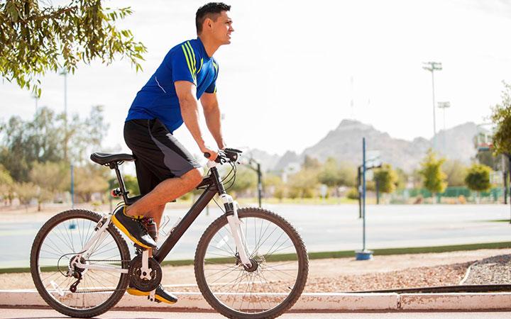 Велосипед поможет повысить мужскую силу