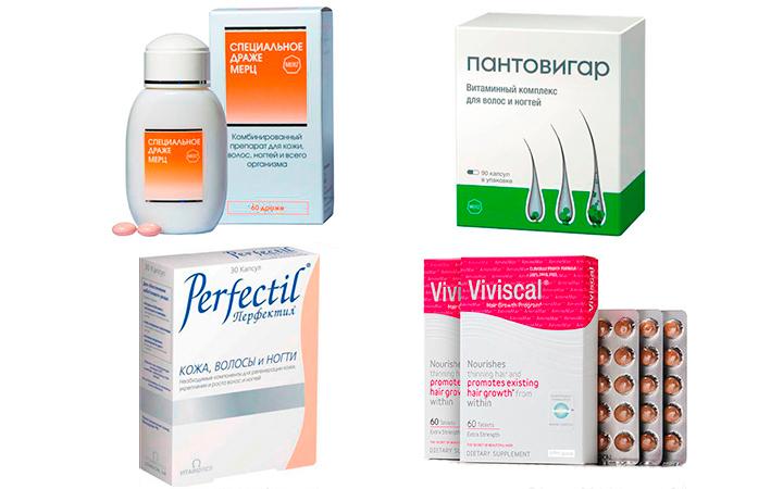 Витамины против облысения