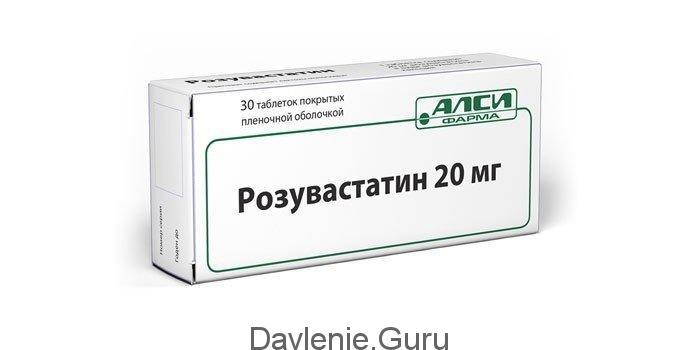 Розувастатин таблетки