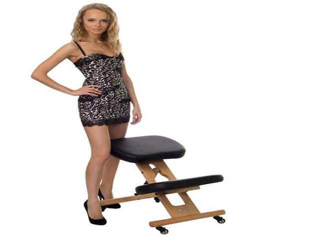 Польза или вред ортопедического коленного стула с упором