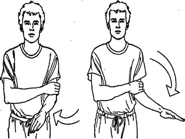 Гимнастические упражнения для руки