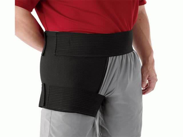 Защитный бандаж для верхней части ноги
