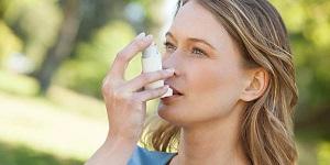 Человек, больной астмой