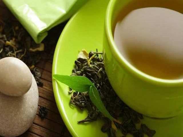 Зеленый чай при повреждение тканей организма