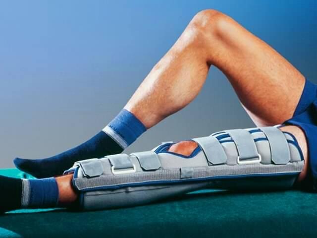 Лечебный бандаж для фиксации ноги
