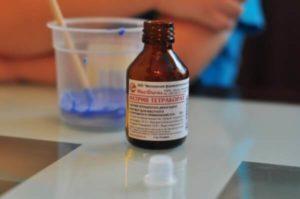 Тетраборат натрия при стоматите