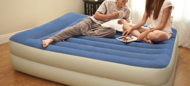 Надувные кровати INTEX , незаменимый атрибут современной жизни
