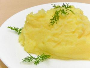 Картофельное пюре на молоке