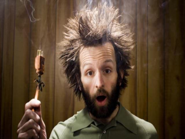 шок после электрического удара
