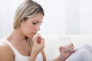 Прием таблетки от нежелательной беременности