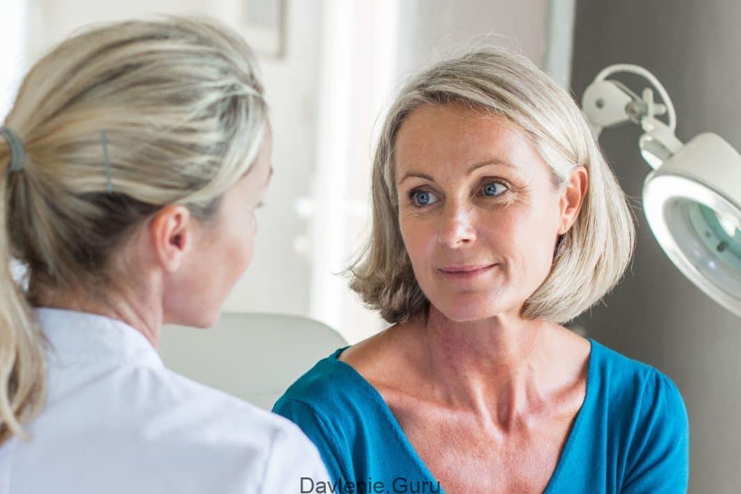 После 50 лет в период менопаузы