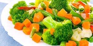 Паровые овощи