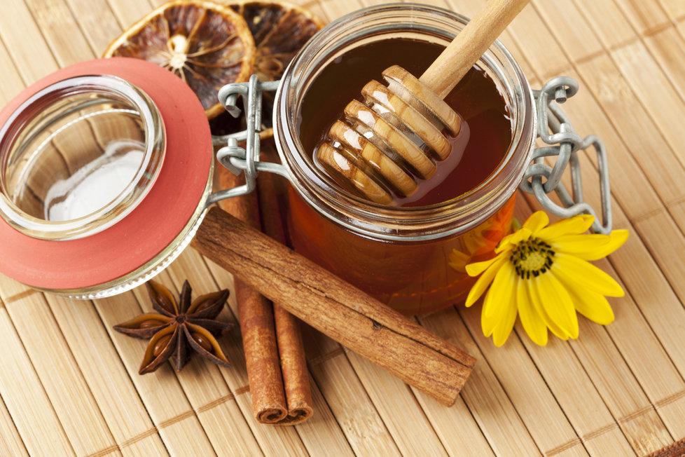 Мед и корица от давления
