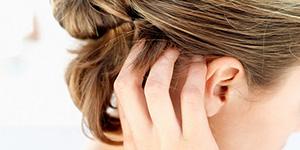 Зуд головы у женщин