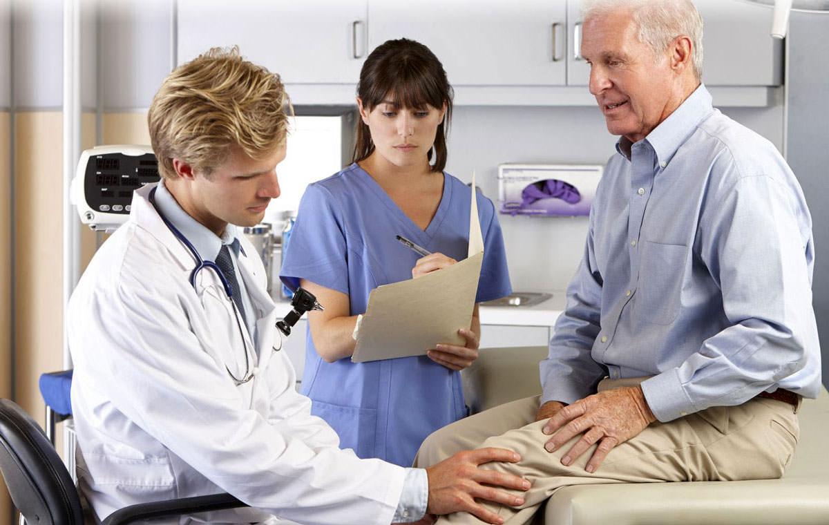 Диагностика колена
