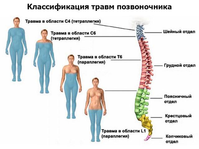 Классификация травм